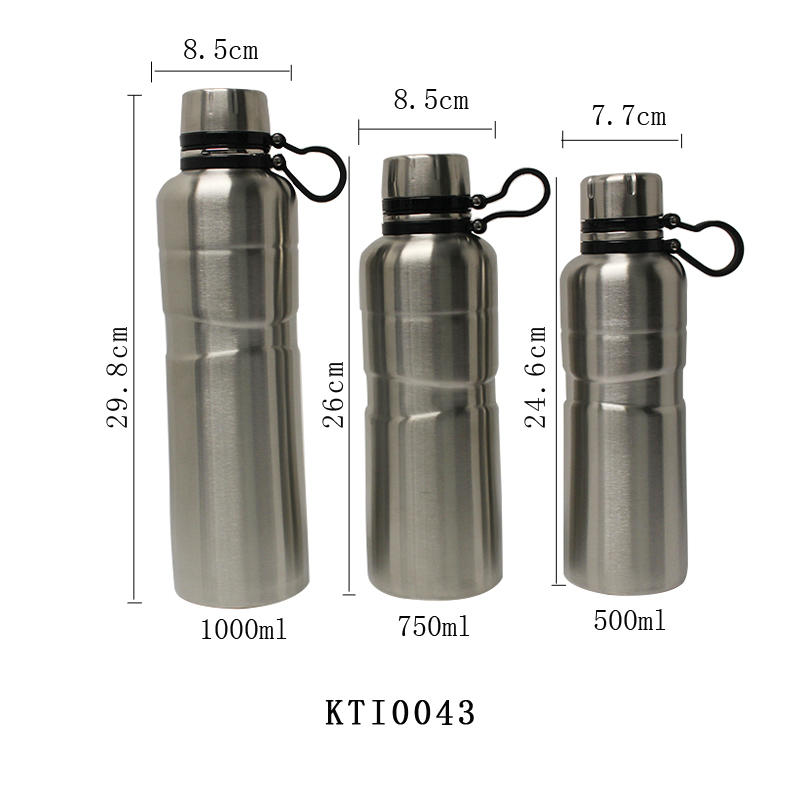 Vacuum Bottle Insulated Thermal Insulation Stainless Steel Double Wall Water Bottle 500ml/750ml/1000ml Koodee