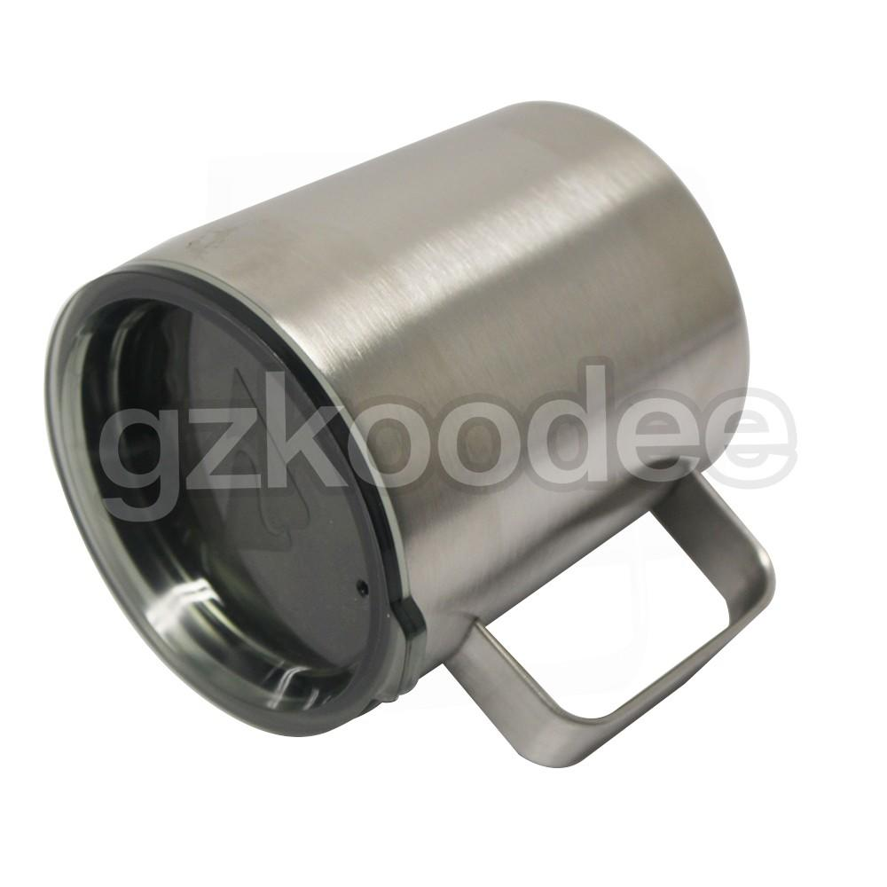 stainless coffee mug double wall for wine Koodee