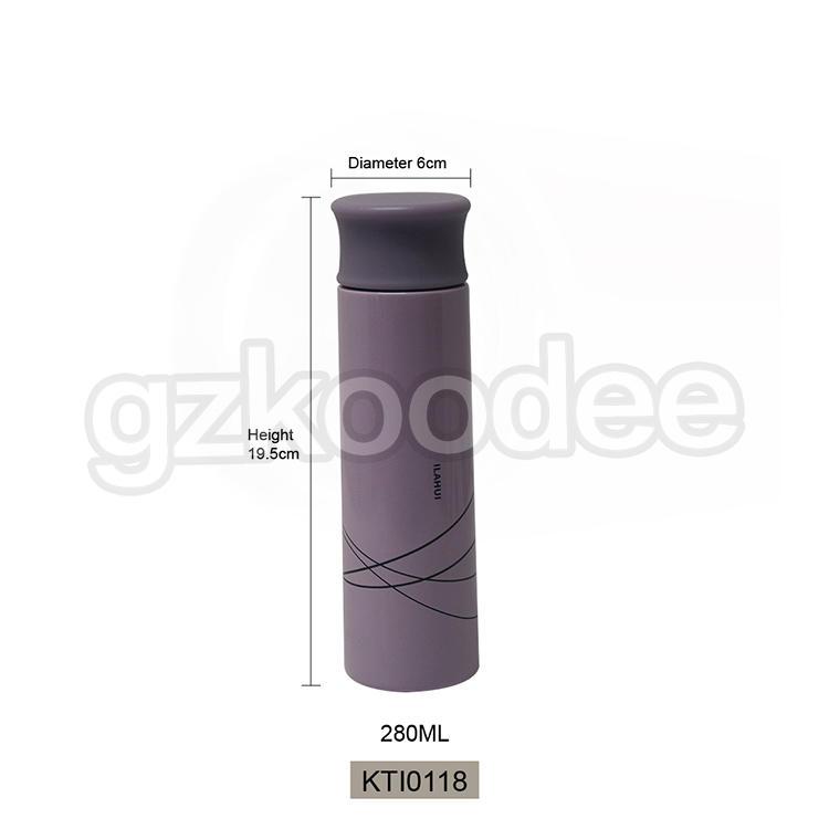 Stainless Steel Thermos Double Wall Mini Type Drinkware 280ml Koodee