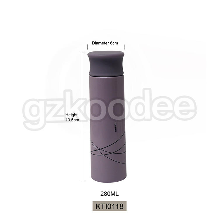 Stainless Steel Thermos Double Wall Mini Type Drinkware 280ml Koodee