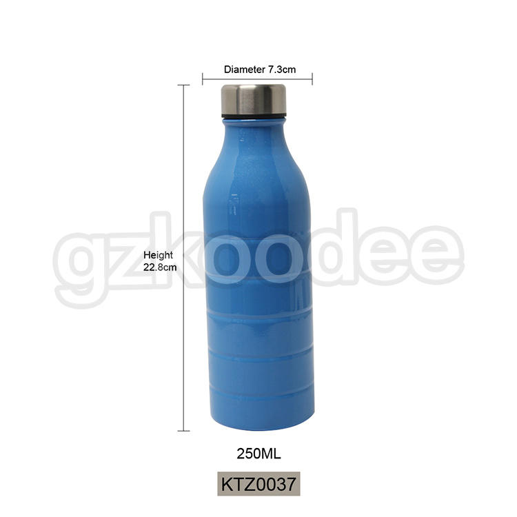 Vacuum Bottle No Sweat Double Wall Stainless Steel  Competitive Price 250ml