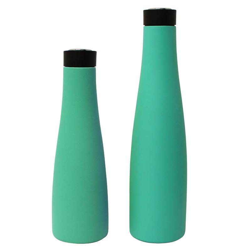 insulated water bottle stainless steel wine bottle with 360-degree drinking lid