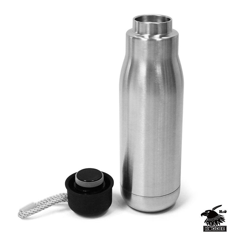 304 Stainless Steel Double-Walled Vacuum thermos Insulated portable water flask Leak-Proof Water Bottle with customer design
