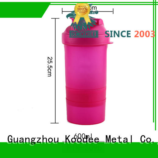 Koodee square shape plastic water bottle companies cap for student