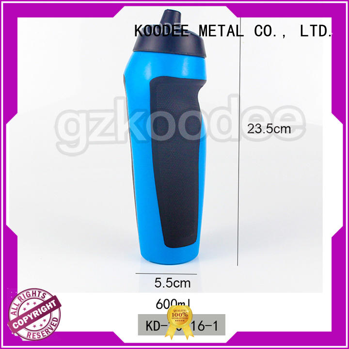 dumbbell shape empty plastic drinking bottles customized for milk Koodee