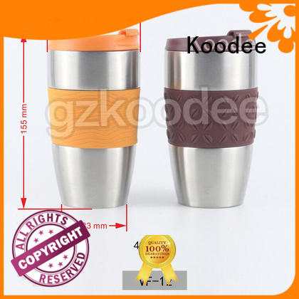 High Quality Fashion Vacuum Stainless Steel Vacuum Flask Water Tumbler 400ml Koodee