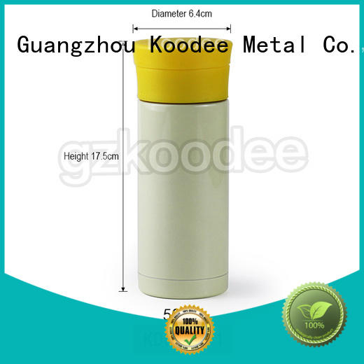 OEM large thermos water bottle top brand for drinking Koodee