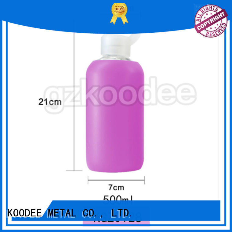 newly drinking glass water bottle high-quality for water Koodee