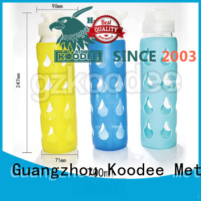 cheap factory price the best glass water bottle free sample for milk Koodee