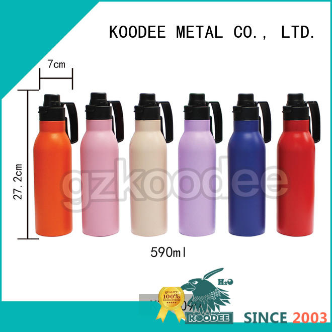 colorful thermostat water bottle wholesale for water bottle