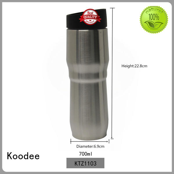 simple design best insulated coffee mug logo printed for pint Koodee