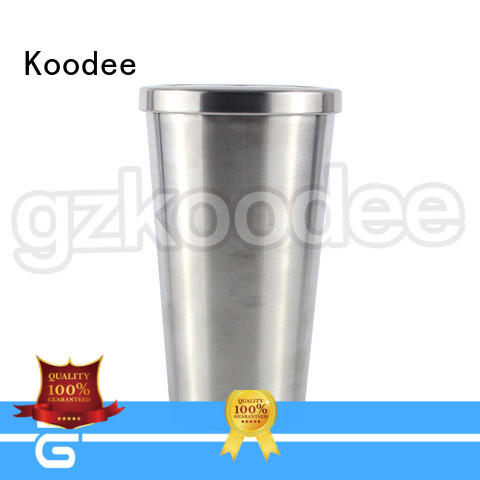 Koodee colorful stainless steel water bottle flask