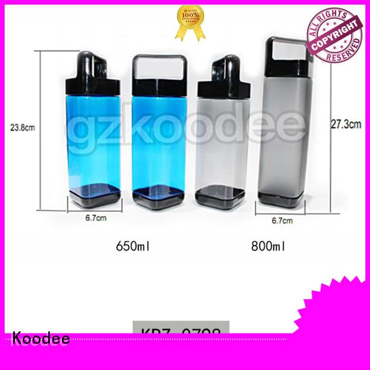 plastic drinking bottles big capacity for coffee Koodee