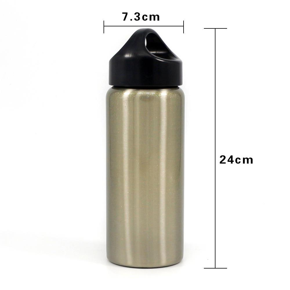 Vacuum Flask Straight Shape Cup With Handle 350-1100 ml Koodee-2