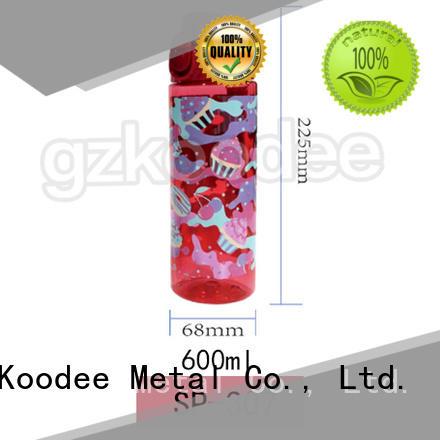 Koodee wholesale plastic water bottle companies sale for liquid