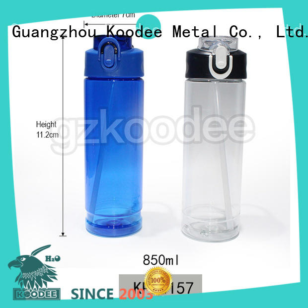 Koodee competitive price plastic water bottle manufacturer casual for drinking