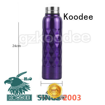 Koodee white best thermos for cold drinks white children