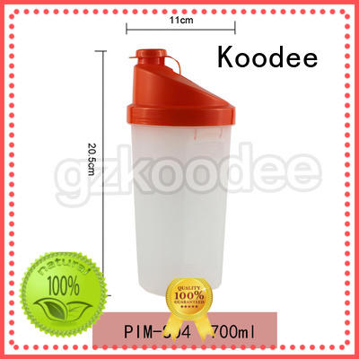 customized safe plastic drinking bottles silicone for milk Koodee
