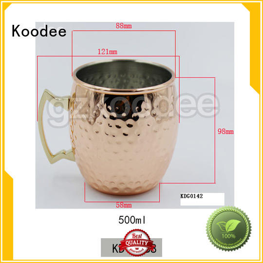 hot-sale stainless wine glass sloped mouth for drinking