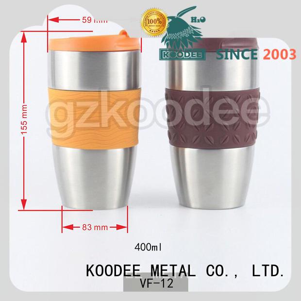 best insulated coffee mug stainless steel for wine Koodee