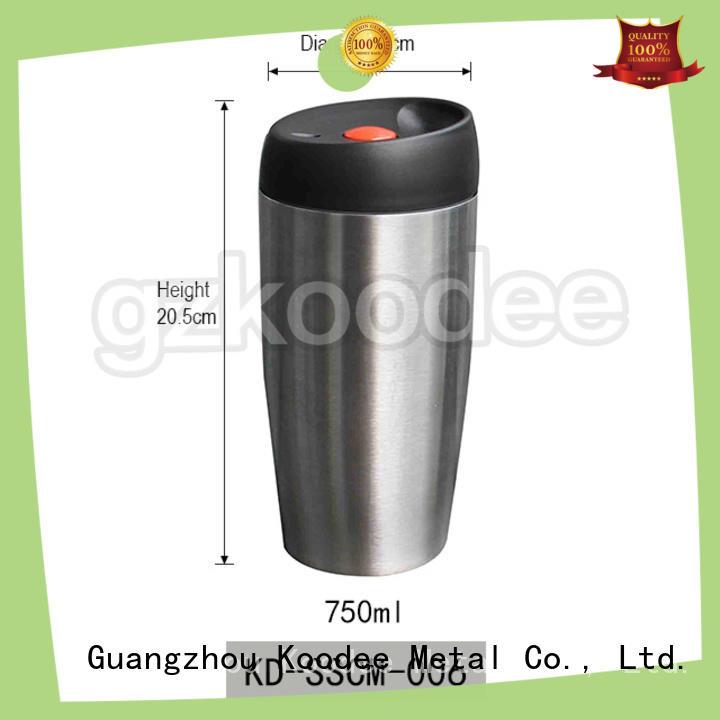 thermos coffee travel mug simple design for pint Koodee
