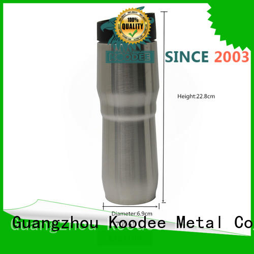 stainless steel insulated coffee tumbler on-sale for wine Koodee