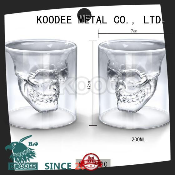 Koodee latest design metal wine cup fashion for drinking