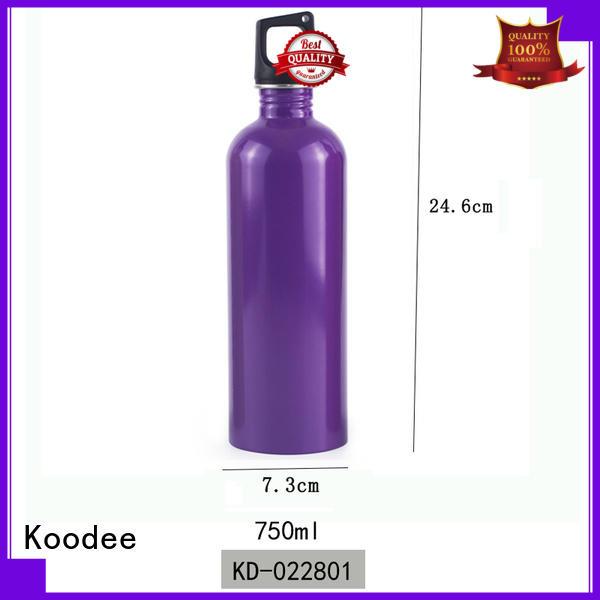 Koodee Vacuum Insulated Outdoor Sports Single Wall Stainless Steel Water Bottle 750ml