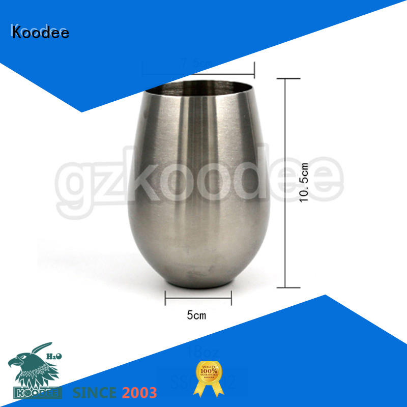 cooper metal wine glasses whiskey wine Koodee