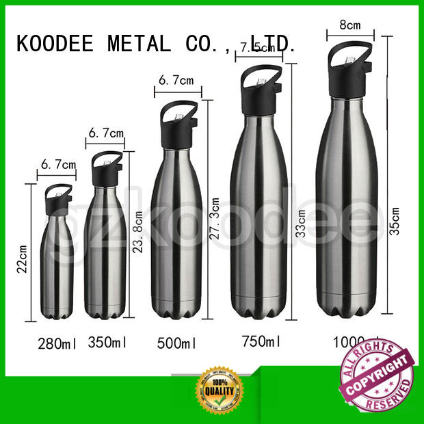 color steel water bottle order now for student