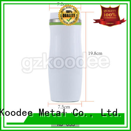 Koodee customized stainless steel coffee tumbler simple design for drinkings