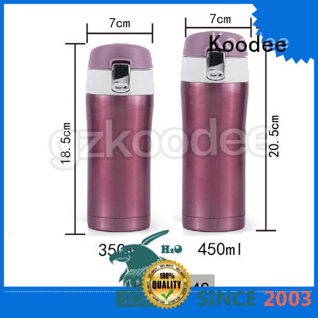 Koodee stainless vacuum sealed thermos custom for potable