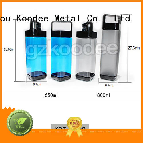 oem plastic water bottle companies shaker coffee