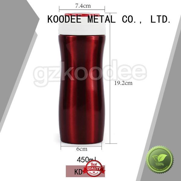OEM metal insulated water bottle top brand for bar Koodee