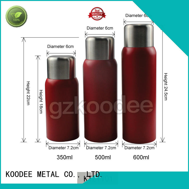 stainless steel vacuum bottle high-end for drinking Koodee