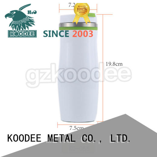 Koodee customized best insulated coffee mug modern design for travel