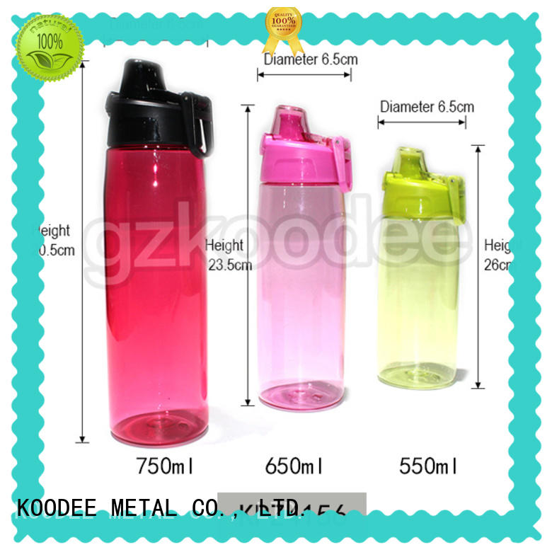high quality plastic water bottles customized for milk Koodee