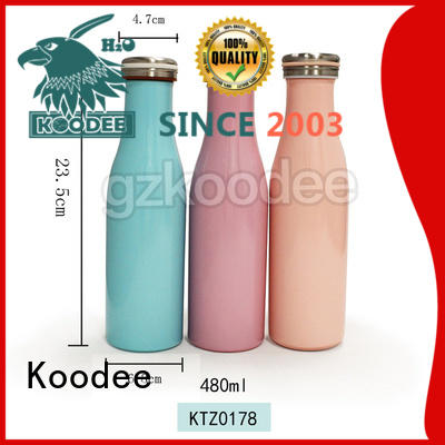Koodee fashion thermal insulated water bottle high-end for water bottle