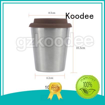 double wall thermal coffee mugs simple design for beer Koodee