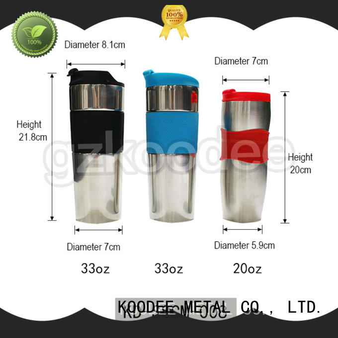 Koodee wall insulated coffee cups modern design for milk
