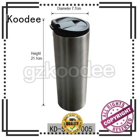Koodee food-grade stainless coffee mug double wall for pint