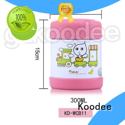 vacuum insulated food thermos OBM for travel Koodee