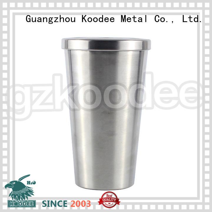 fashion stainless steel water bottle for drinking Koodee