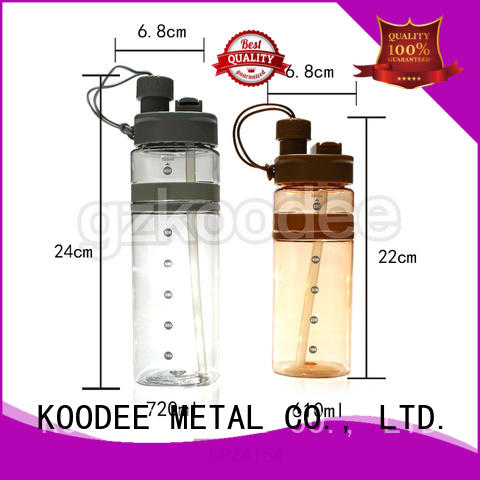 safe plastic bottles for drinking water customized for student Koodee