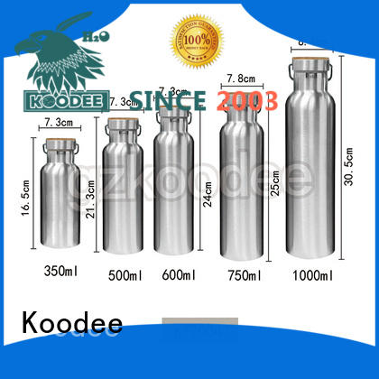Koodee color stainless steel thermos bottle wholesale for water bottle