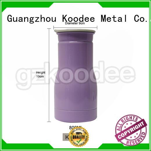 BPA-free vacuum insulated flask ODM for liquid storage Koodee