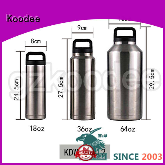 insulated stainless steel water bottle high-end for children Koodee