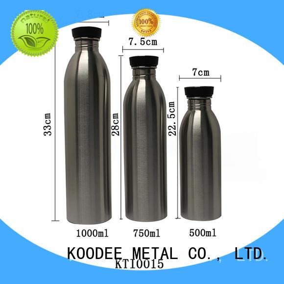 top brand stainless steel vacuum bottle ODM for drinking Koodee