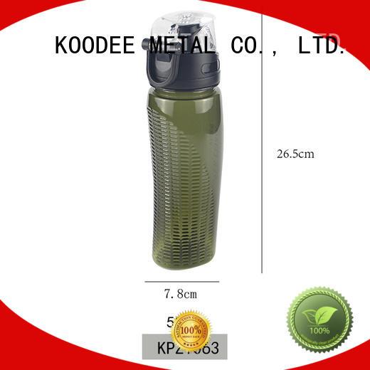 fashion design safe plastic bottles for drinking water solid color for milk Koodee