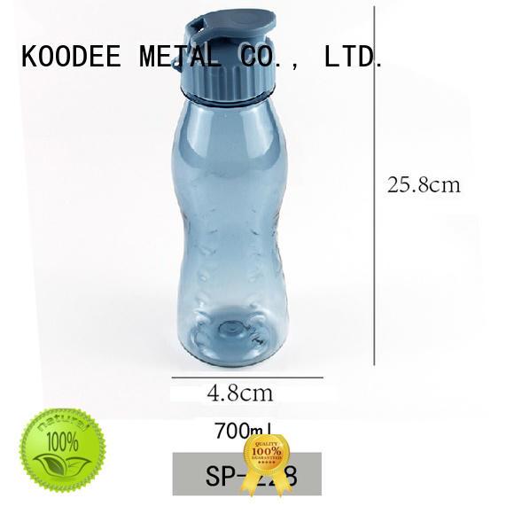 Koodee oem personalized plastic water bottles way for liquid